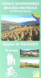Syndic.Région Beaujeu-Monsols - Espace randonnées Beaujeu-Monsols en pays beaujolais - Région de Beaujeu, 20 circuits.