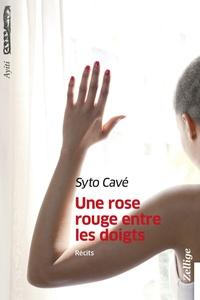Syto Cavé - Une rose rouge entre les doigts.