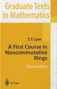 Histoiresdenlire.be A First Course in Noncommunicative Rings Image