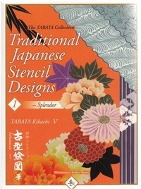 Tabata Kihachi - Traditional japanese stencil designs : 1  splendor.