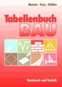 Tabellenbuch Bau.