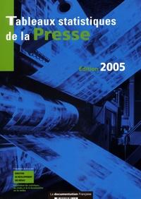Tableaux statistiques de la presse : données détaillées 2003, rétrospective 1985-2003.