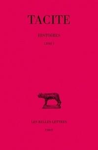 Tacite - Histoires - Tome 1 (Livre 1).