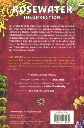 Rosewater Tome 2 Insurrection