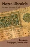 Tahar Bekri - Notre librairie : 159, langues, langages, inventions.