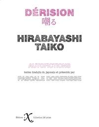 Taiko Hirabayashi - Dérision.