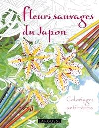 Galabria.be Fleurs sauvages du Japon - Coloriages anti-stress Image