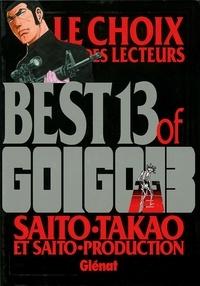 Takao Saito - Best 13 of Golgo 13 - Le choix des lecteurs.