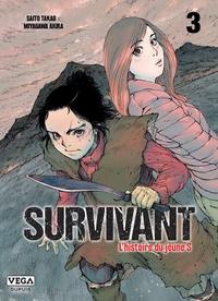 Takao Saito et Akira Miyagawa - Survivant, l'histoire du jeune S Tome 3 : .