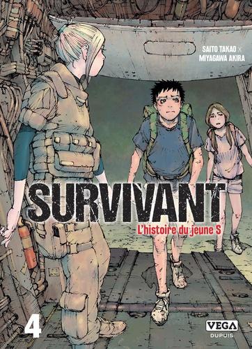Survivant, l'histoire du jeune S Tome 4