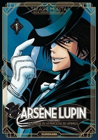Takashi Morita - Arsène Lupin l'aventurier Tome 1 : Le diadème de la Princesse Lamballe.