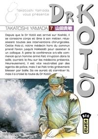 Takatoshi Yamada - Dr Kotô - Tome 7.
