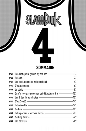Slam Dunk Star edition Tome 4
