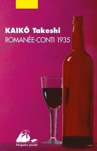 Takeshi Kaiko - Romanée-Conti 1935.