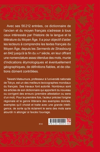 Dictionnaire du français médiéval