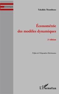Taladidia Thiombiano - Econométrie des modèles dynamiques.
