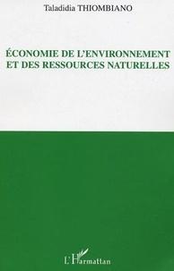 Taladidia Thiombiano - Economie de l'environnement et des ressources naturelles.