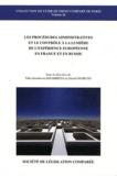 Talia Iaroulovna Khabrieva et Gérard Marcou - Les procédures administratives et le contrôle à la lumière de l'expérience européenne en France et en Russie.