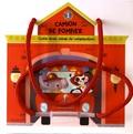 Tam Tam Editions - Camion de pompier - Livre avec cubes de construction.