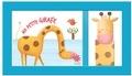 Tam Tam Editions - Ma petite girafe - Livre + Marionnette.