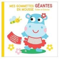Tam Tam Editions - Mes gommettes géantes en mousse - Coller et colorier.