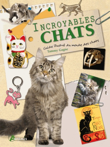 Tammy Gagne - Incroyables chats - Un recueil d'anecdotes félines.