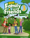 Tamzin Thompson et Naomi Simmons - Family and Friends 3 - Class Book.