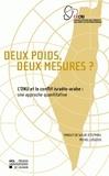 Tanguy de Wilde d'Estmael et Michel Liégeois - Deux poids, deux mesures ? - L'ONU et le conflit israélo-arabe : une approche quantitative.