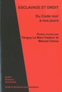 Esclavage et droit - Du Code noir à nos jours.pdf