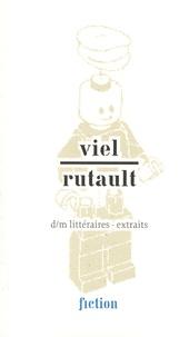 Tanguy Viel et Claude Rutault - d/m littéraires - extraits.