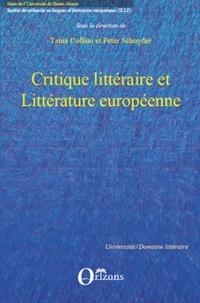 Tania Collani et Peter Schnyder - Critique littéraire et littérature européenne.