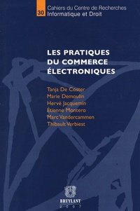 Tanja De Coster - Les pratiques du commerce électroniques.