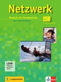 Tanja Mayr-Sieber et Stefanie Dengler - Netzwerk A2 in Teilbänden - Kurs- und Arbeitsbuch, Teil 1 mit 2 Audio-CDs und DVD - Deutsch als Fremdsprache.