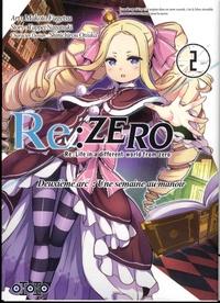 Téléchargement de livres électroniques au format texte gratuit Re:Zero Deuxième arc : Une semaine au manoir Tome 2 (French Edition) ePub