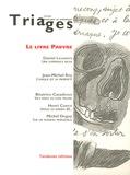 Daniel Leuwers - Triages Hors-série 2003 : Le livre pauvre.