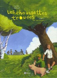 Tarek et  Batist - Les chaussettes trouées Tome 2 : Les Parisiens.
