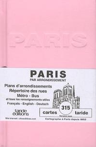 Taride - Paris par arrondissement.