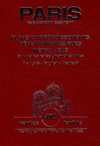 Taride - Plan-guide de Paris - Plans d'arrondissements.
