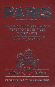 Taride - Plan-guide de Paris - Plans d'arrondissements , répertoire des rues, métro-bus et tous les renseignements utiles.
