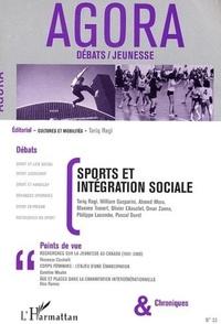 Tariq Ragi et  Collectif - Agora Débats/Jeunesse N° 33 : Sports et intégration sociale.