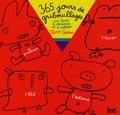 Taro Gomi - 365 Jours de gribouillages - Un livre à dessiner et à colorier.
