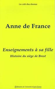 Enseignements à sa fille - Suivis de lHistoire du siège de Brest.pdf