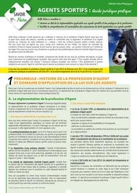 Tatiana Vassine - Agents sportifs - Guide juridique pratique.