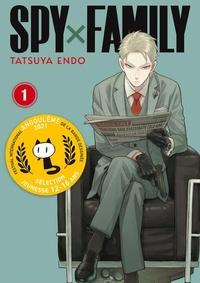 Tatsuya Endo - Spy X Family Tome 1 : Avec un porte-clés.