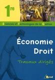Taylor Anelka et Nadine Forté - Economie - Droit - Travaux dirigés 1e STG.