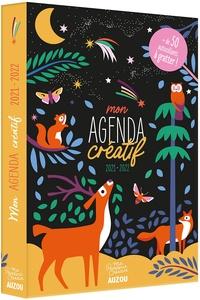 Taylor Nadia - Mon agenda créatif - Avec + de 50 autocollants à gratter !.