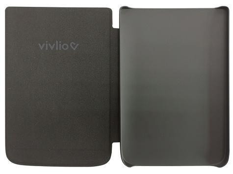 Housse liseuse TL4  et Touch HD plus Noire Vivlio