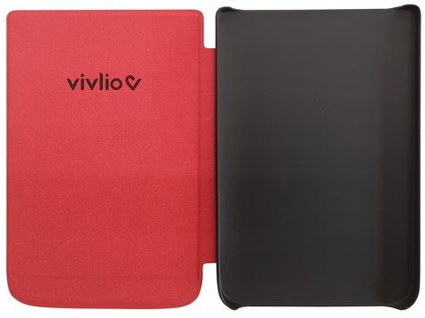 Housse liseuse TL4  et Touch HD plus Rouge Vivlio