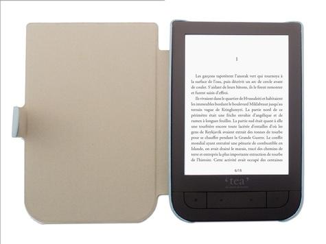 Housse liseuse Touch HD - Bleu canard