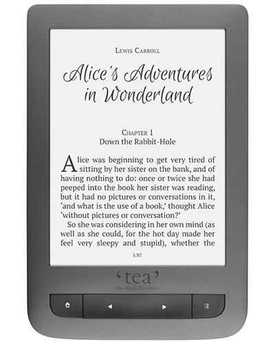 PocketBook - Liseuse éclairée Touch Lux 3 grise TEA.